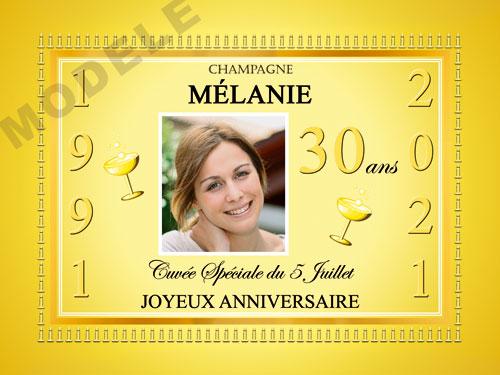 etiquette de champagne personnalisable pour anniversaire can 02