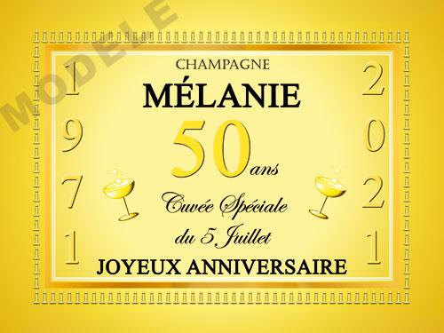 etiquette de champagne personnalisable pour anniversaire can 03