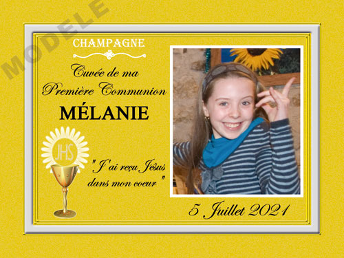 etiquette de champagne personnalisable pour communion com 02