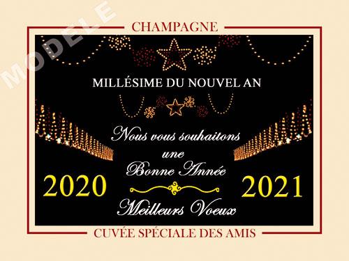 etiquette champagne nouvel an nan 01