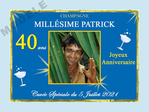 etiquette champagne anniversaire can 33