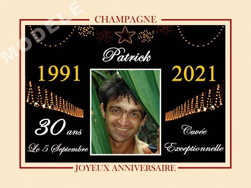 etiquette champagne anniversaire can 35