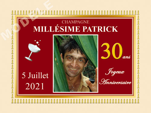 etiquette champagne anniversaire can 36