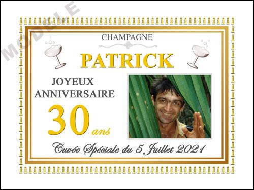 etiquette champagne anniversaire can 39