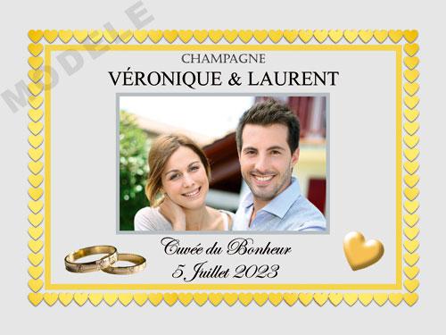 etiquette de champagne personnalisable pour mariage ema 06