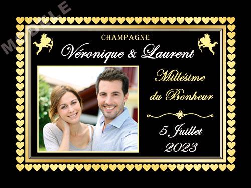 etiquette de champagne personnalisable pour mariage ema 09