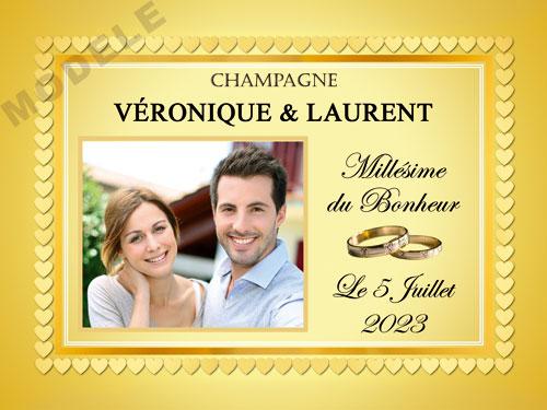 etiquette de champagne personnalisable pour mariage ema 18
