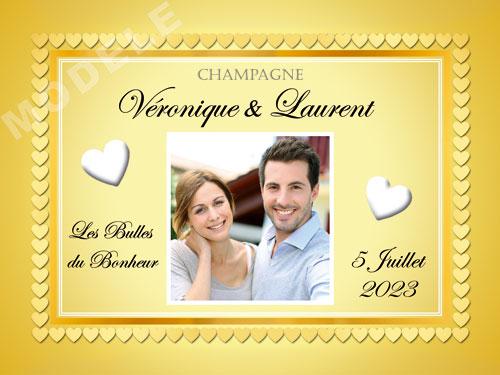 etiquette de champagne personnalisable pour mariage ema 19