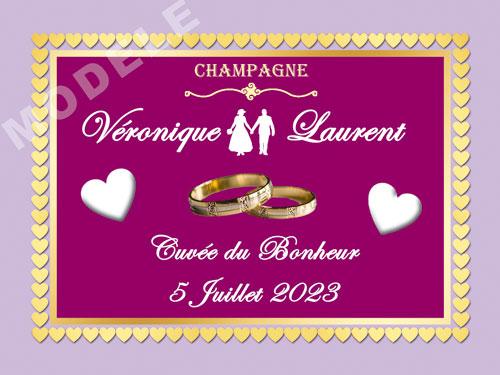 etiquette champagne mariage ema 32