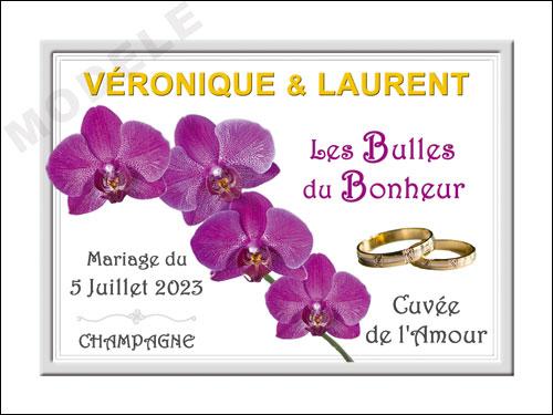 etiquette champagne mariage ema 34
