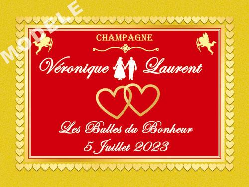 etiquette champagne mariage ema 37
