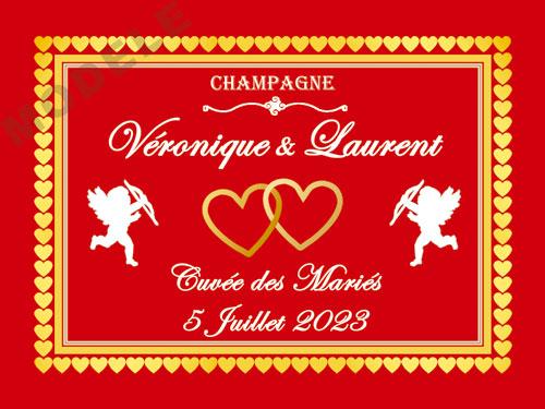 etiquette champagne mariage ema 39