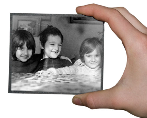 tirage photo de négatif en verre
