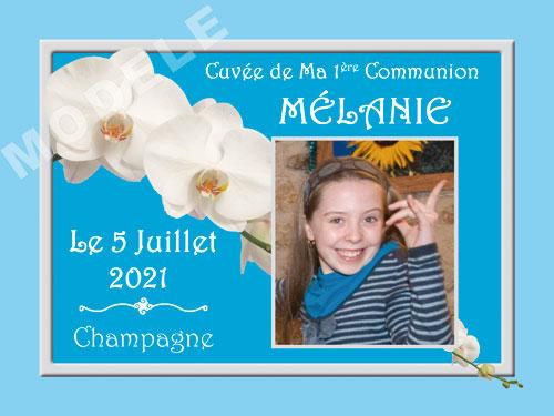 etiquette de champagne personnalisable pour communion com 09