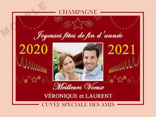 etiquette champagne nouvel an nan 06