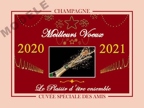 etiquette champagne nouvel an nan 07