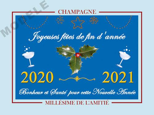 etiquette champagne nouvel an nan 09