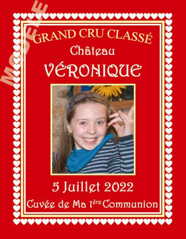 étiquette de vin communion vcom 21