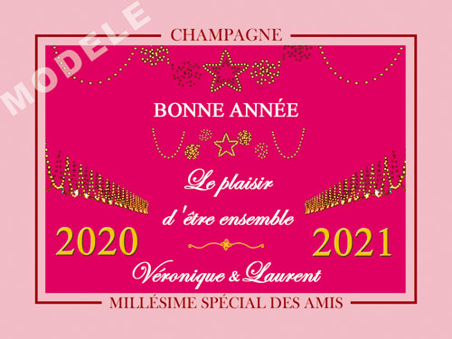 etiquette champagne nouvel an nan 10