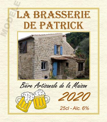 étiquette de bière personnalisable bir 03