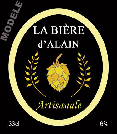 étiquette de bière personnalisable bir 07