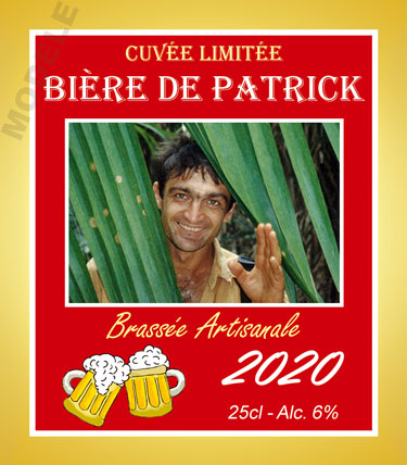 étiquette de bière personnalisable bir 09