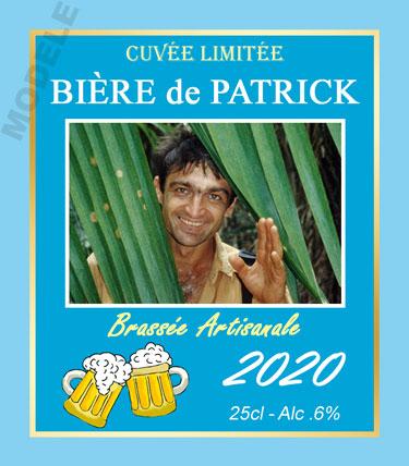 étiquette personnalisée pour bouteille de bière bir 14